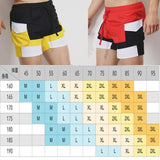 Red Patchwork Men's Beachwear Pants Plus Size Swimwear Summer Surfing Shorts Swim Briefs Man Swimming Trunks For Bathing Short-[product_type]-Come4Buy eShop