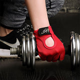 Half-finger Fitness Gloves Breathable Anti Slip Fingerless Glove for Women Men Bodybuilding Weight Lifting Excise Gloves Gym-[product_type]-Come4Buy eShop