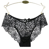 Plus Size S/XL Fashion High Quality Women's Panties Transparent Underwear Women Lace Soft Briefs-Bras & Briefs-Come4Buy eShop