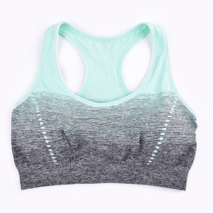 Sports Bra High Stretch Breathable Top Fitness Women Padded for Running-Sports Bra-Come4Buy eShop