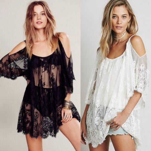 C4B Lace Swimwear Cover Up