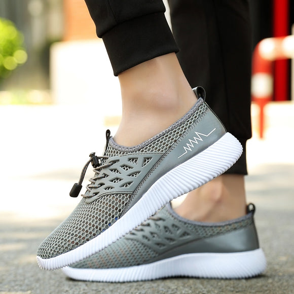 Sneakers Casual Mesh Soft Men Flats Cozy Summer Mens Shoes Sapato Masculino Leisure Shoe-Men Shoes-Come4Buy eShop