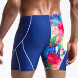 Hot Sale Men Swimwears Flower Patchwork Trunks For Bathing Swimsuits High Rise Swimming Boxer Surfing Board Shorts Beachwear-[product_type]-Come4Buy eShop