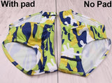 New Man's Brand Swimming Camouflage Swim Trunks Sexy Low Waist Swimming Briefs Swimwear Boxers Patchwork Color Hot Sell Summer-[product_type]-Come4Buy eShop