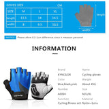 Summer Men Women Weighted Fitness Gloves Outdoor Sports Cycling Gloves Breathable Bicycle Half Finger Gloves Shock MTB Gloves-Glove-Come4Buy eShop