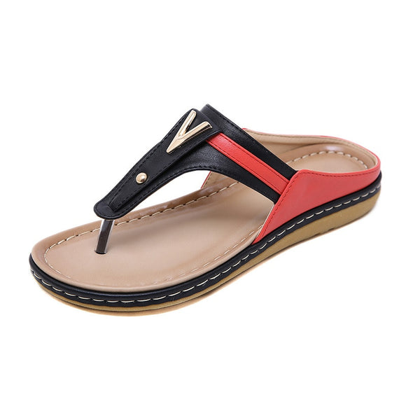Women Shoes Flip Flops Ladies Beach Sandals Plus Size Women Sandals Flat Women Flip Flops-Women Flats Shoes-Come4Buy eShop