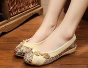 Femmes Appartements Chinois Fleur Broderie Toile Chaussures En Lin Sapato Feminino Taille 35-40-Chaussures Femme-Come4Buy eShop