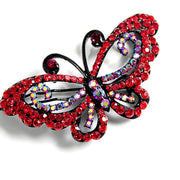 Light Siam Hairpin Head Jewelry Barrette HD12A Hairpin Wedding Party Prom Jewelley-HAIR TILBEHØR-Come4Buy eShop