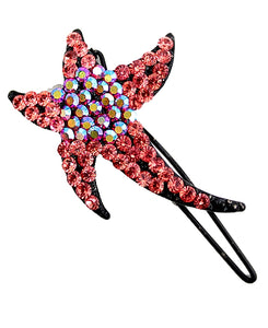 Padparadscha Hairpin Head Jewelry Barrette HD13A-HAIR ACCESSORIES-Come4Buy eShop