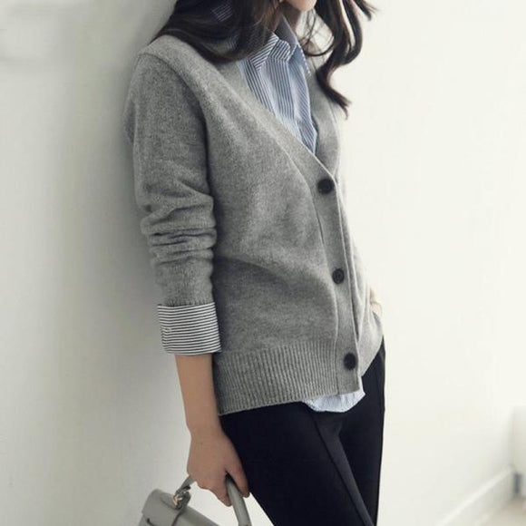 Knitted Sweaters Coat 02