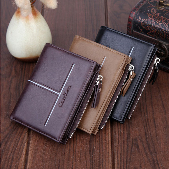 Wallet Credit Card Holder Short Multi-function