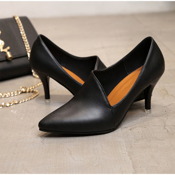 High Heels Shoes Pointed Toe