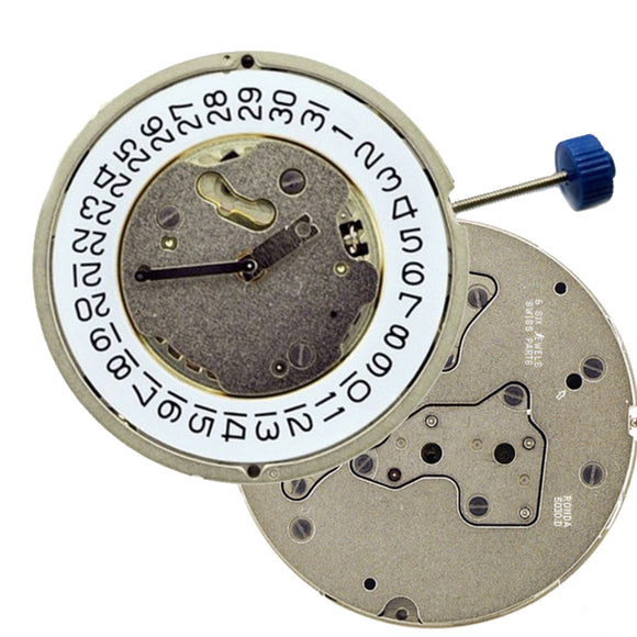 Ronda 5030 3 eyes Chronograph 5030.D 4.4 mm Chrono 3-6-9 Repairable metal watch movement-WATCH MOVEMENTS-Come4Buy eShop