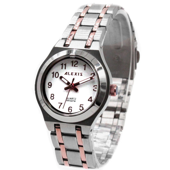 SSW519A Water Resist Ladies Women ALEXIS 2035 JAPAN QUARTZ Stainless Steel Watch-WATCHES-Come4Buy eShop