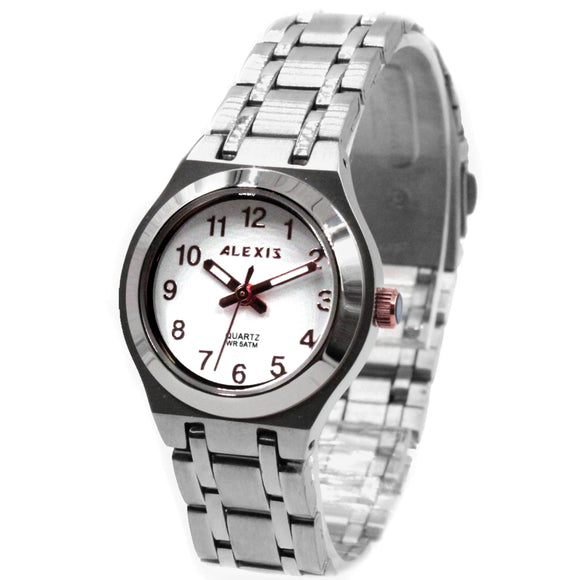 SSW519B Water Resist Women ALEXIS All Stainless Steel 2035 Stainless Steel Watch-WATCHES-Come4Buy eShop
