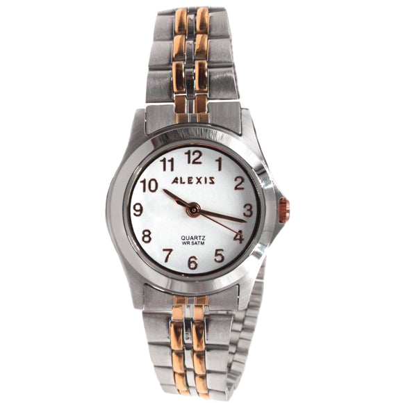 SSW520A Water Resist Ladies Women ALEXIS 2035 JAPAN QUARTZ Stainless Steel Watch-WATCHES-Come4Buy eShop