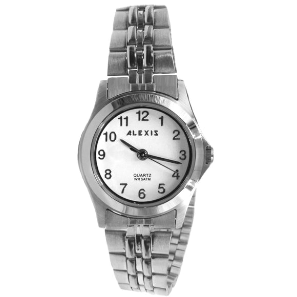 SSW520C Matt Silver Band ALEXIS 2035 Stainless Steel Watch Stainless Steel Watch-WATCHES-Come4Buy eShop