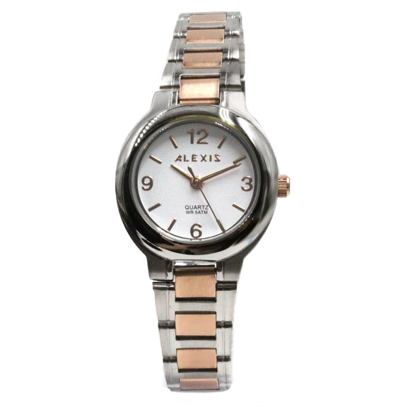 SSW521A Water Resist Women ALEXIS All Stainless Steel 2035 Stainless Steel Watch-WATCHES-Come4Buy eShop