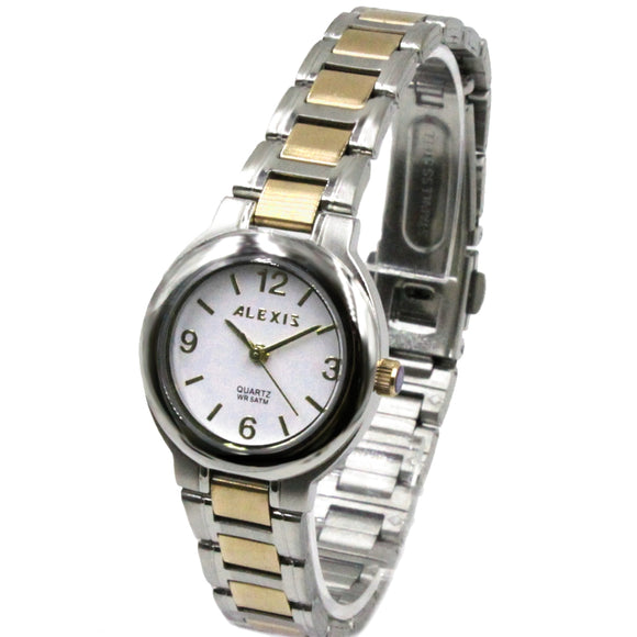 SSW521B Water Resist Women ALEXIS All Stainless Steel 2035 Stainless Steel Watch-WATCHES-Come4Buy eShop