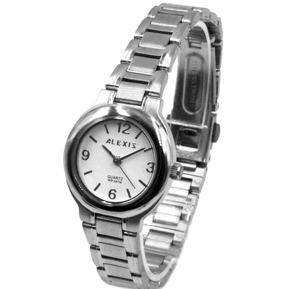SSW521C Water Resist Women ALEXIS All Stainless Steel 2035 Stainless Steel Watch-WATCHES-Come4Buy eShop