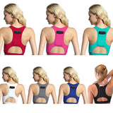 Women's Compression Sports Bra With Phone Pocket Yoga Bra Sportswear Elastic Running-Sports Bra-Come4Buy eShop
