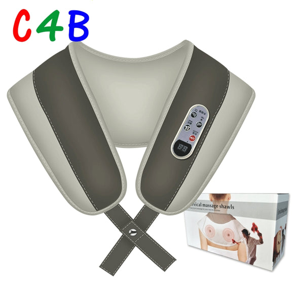 Cervical Massage shawls with Heat Deep Kneading Massager Shoulders
