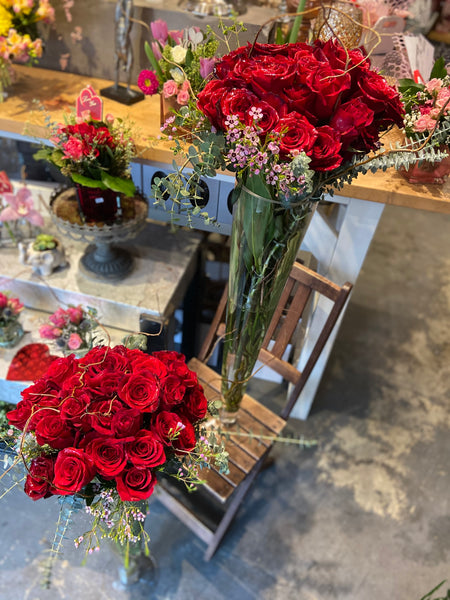 The Ultimate - 3 dozen Roses - pick your colour