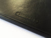BLACK LEATHER LAPTOP SLEEVE 13""