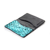 Blue Metallic Perch Fish-leather Cardholder
