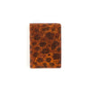 Cognac Brown Wolffish-leather Cardholder