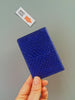 Blue Salmon Fish-leather Cardholder