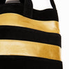 "Tote Bag Black/Yellow ""Makara"""