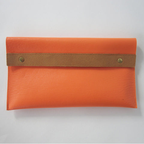 Orange Purse Medium