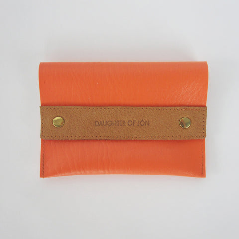 Orange Purse Small