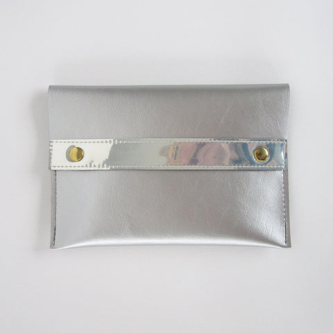 Silver Hologram Purse