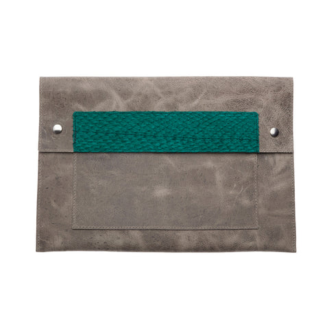 Purse Clutch Stonewash
