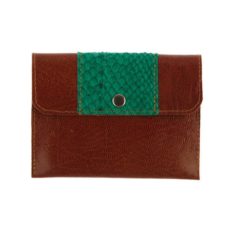Purse Brown / Green