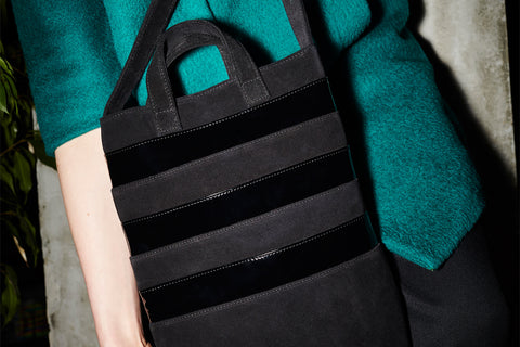 "Tote Bag Black ""Cetus"""