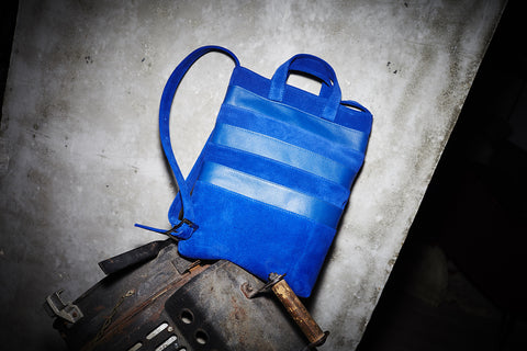 "Tote Bag Blue ""Faxi"""