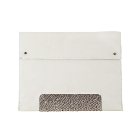 IPad Sleeve / White
