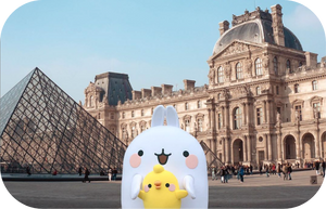 Event ­ Meet MOLANG at the Louvre