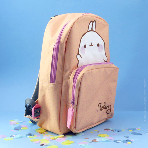 Sac à dos XL MOLANG HELLO !