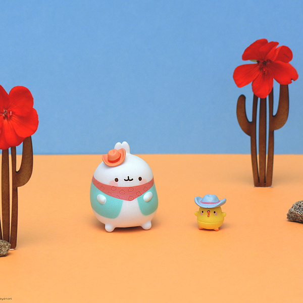 Duo surprise de figurines MOLANG