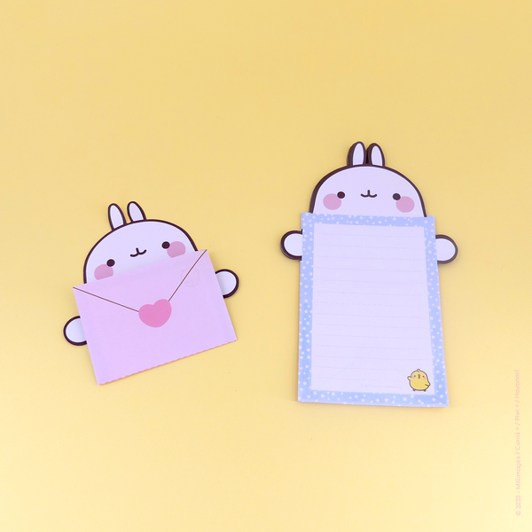 Mini  bloc-note MOLANG