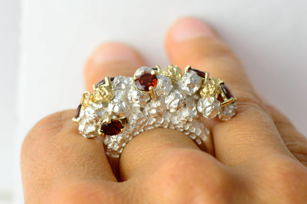 prominent  cocktail ring