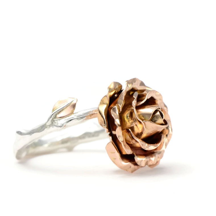 Large rose ring