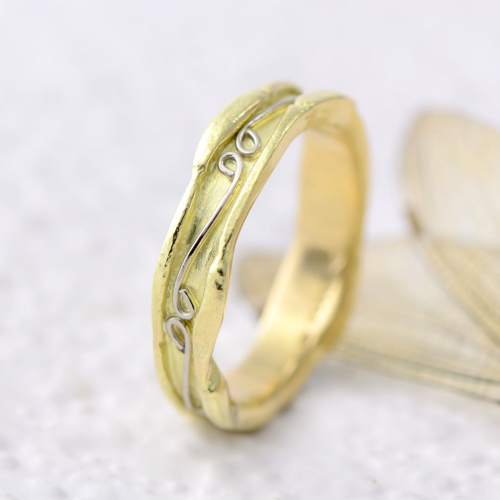 18ct fairtrade gold wedding ring
