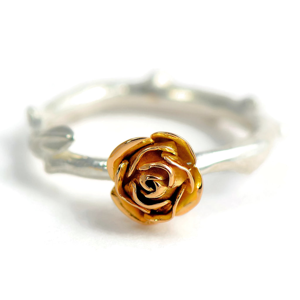 18ct rose gold ring
