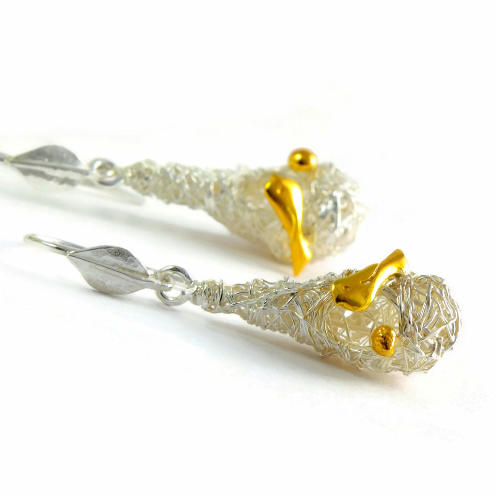 Hook long earrings