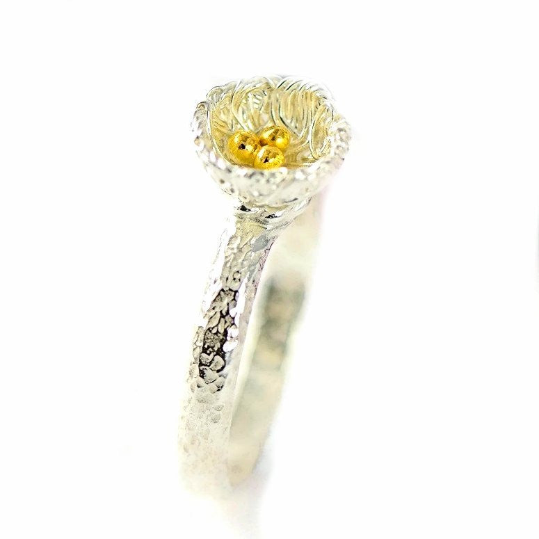 Bird's Nest Ring, single nest